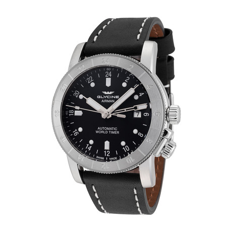 Glycine Airman 42 GMT Automatic // 3954.191.LB9B