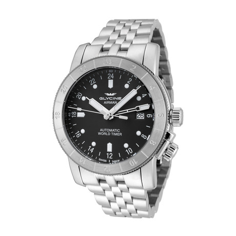 Glycine Airman 42 GMT Automatic // 3954.101.MB