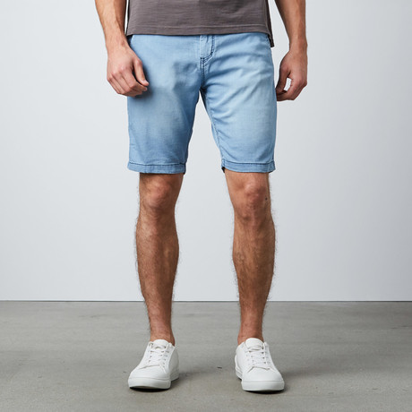 Ricky Washed French Terry Short // Blue