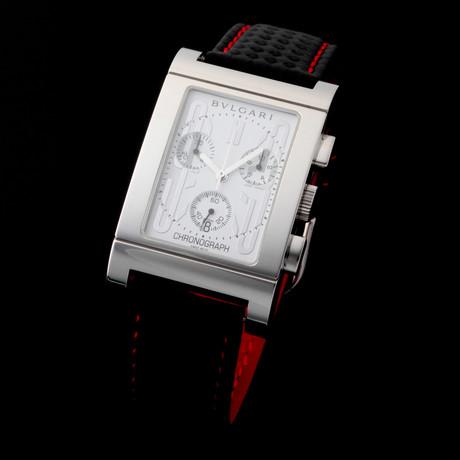 Bvlgari Rettangolo Chronograph Quartz // RT49CH // Pre-Owned