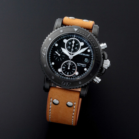Montblanc Chronograph Automatic // 7182 // Pre-Owned