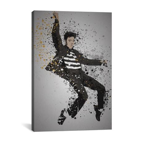 "Elvis Presley (26""W x 18""H x 0.75""D)"