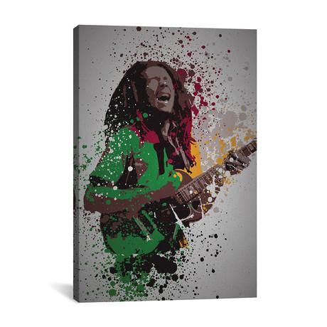 """Bob Marley (26""""W x 18""""H x 0.75""""D)"""