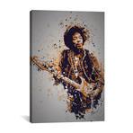 "Jimi Hendrix // TM Creative Design (26""W x 40""H x 1.5""D)"