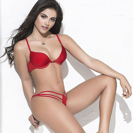 Adrianna Panty // Red (Small)