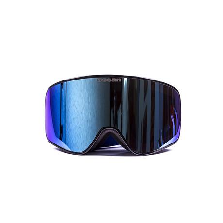 Aspen // Black Frame + Blue Lens