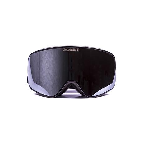 Aspen // Black Frame + Silver Lens