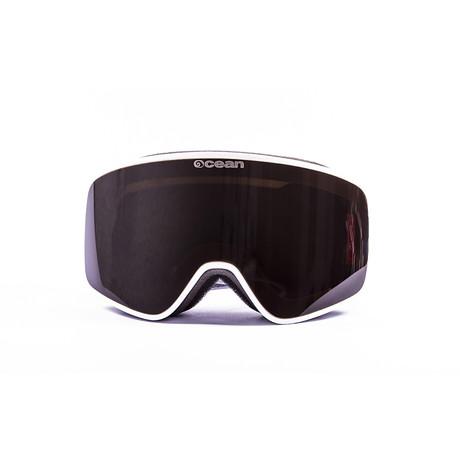 Aspen // White Frame + Smoke Lens