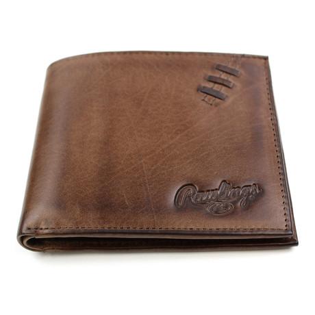 Legacy Passcase Wallet // Brown