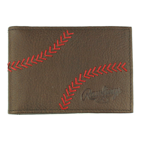 Home Run Front Pocket // Brown