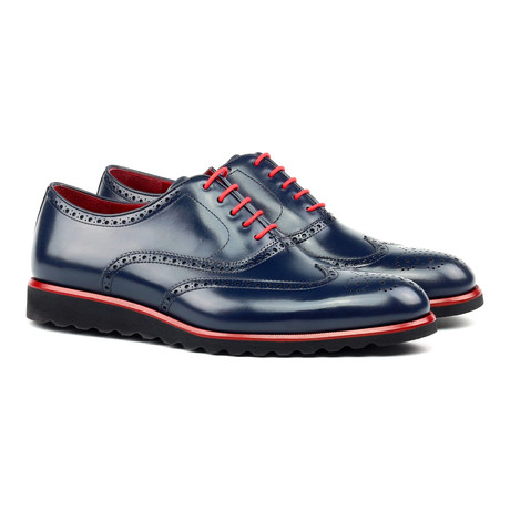 Full Brogue // Navy