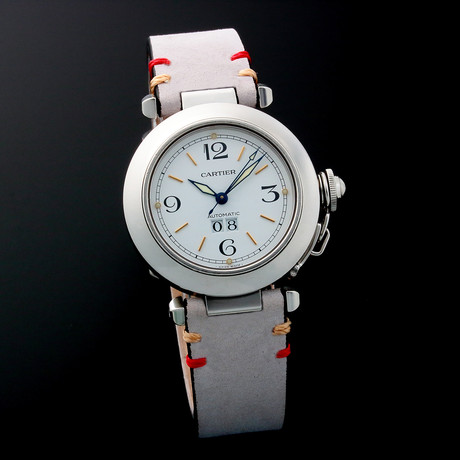 Cartier Pasha Big Date Automatic // 2475 // c. 1990s // Pre-Owned