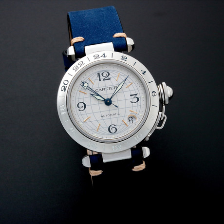 Cartier Pasha GMT Automatic // 3173 // c. 2000s // Pre-Owned