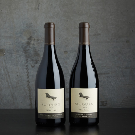 94 Point Sojourn Cellars Mixed Pinot Noir // 2 Bottles