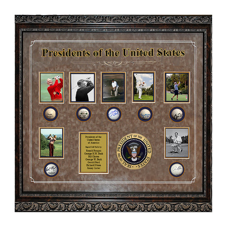 Signed Collage // Presidents Of The United States