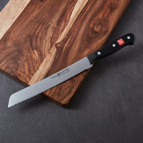 "Gourmet // 8"" Bread Knife"