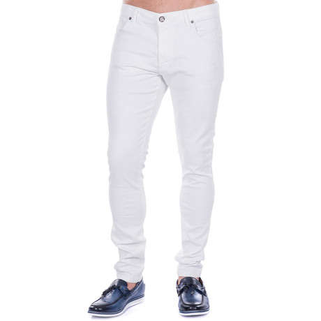 Kus Power Stretch Jean // White