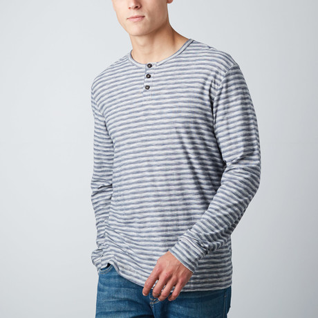 Juneau Long-Sleeve Knit // Indigo!