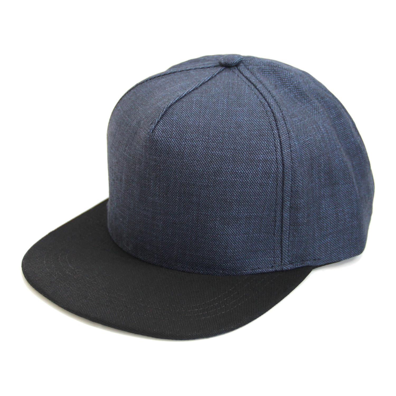 36ccf39d71b3b Tokio    Blue Linen - Papá Originals Baseball Hats - Touch of Modern