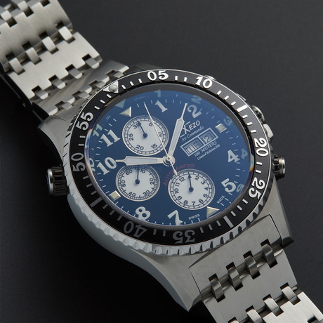 Xezo Air Commando Diver Chronograph Automatic // D45-7750