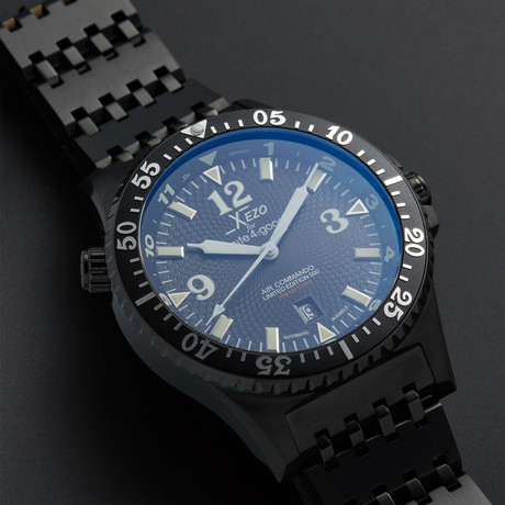 Xezo Air Commando Diver Pilot Automatic // D45-BL