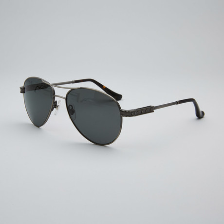 Unisex Coinstar Polarized Sunglasses // Black