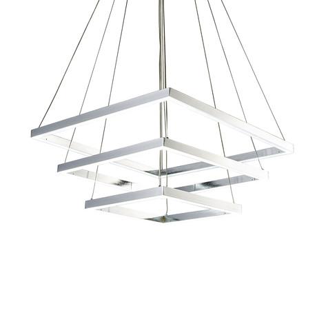Triple Square Pendant Lamp