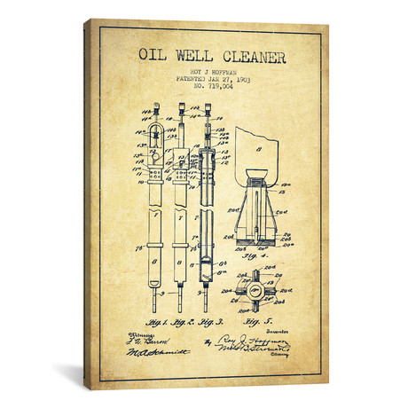 Oil Well Cleaner Vintage