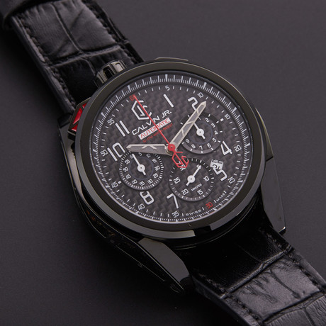 CJR Velocita Carbon Chronograph Automatic // VE-CAR