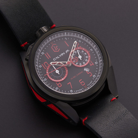 CJR Velocita Fire Red Chronograph Quartz // VE-FIR