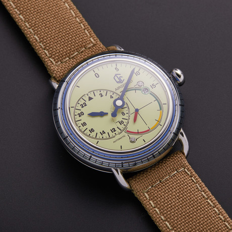 CJR Airspeed Vintage Blue Automatic // AS-SS-W-09