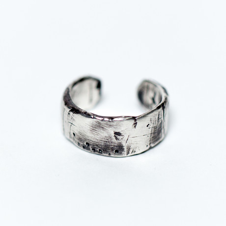 Adjustable Ring // Silver