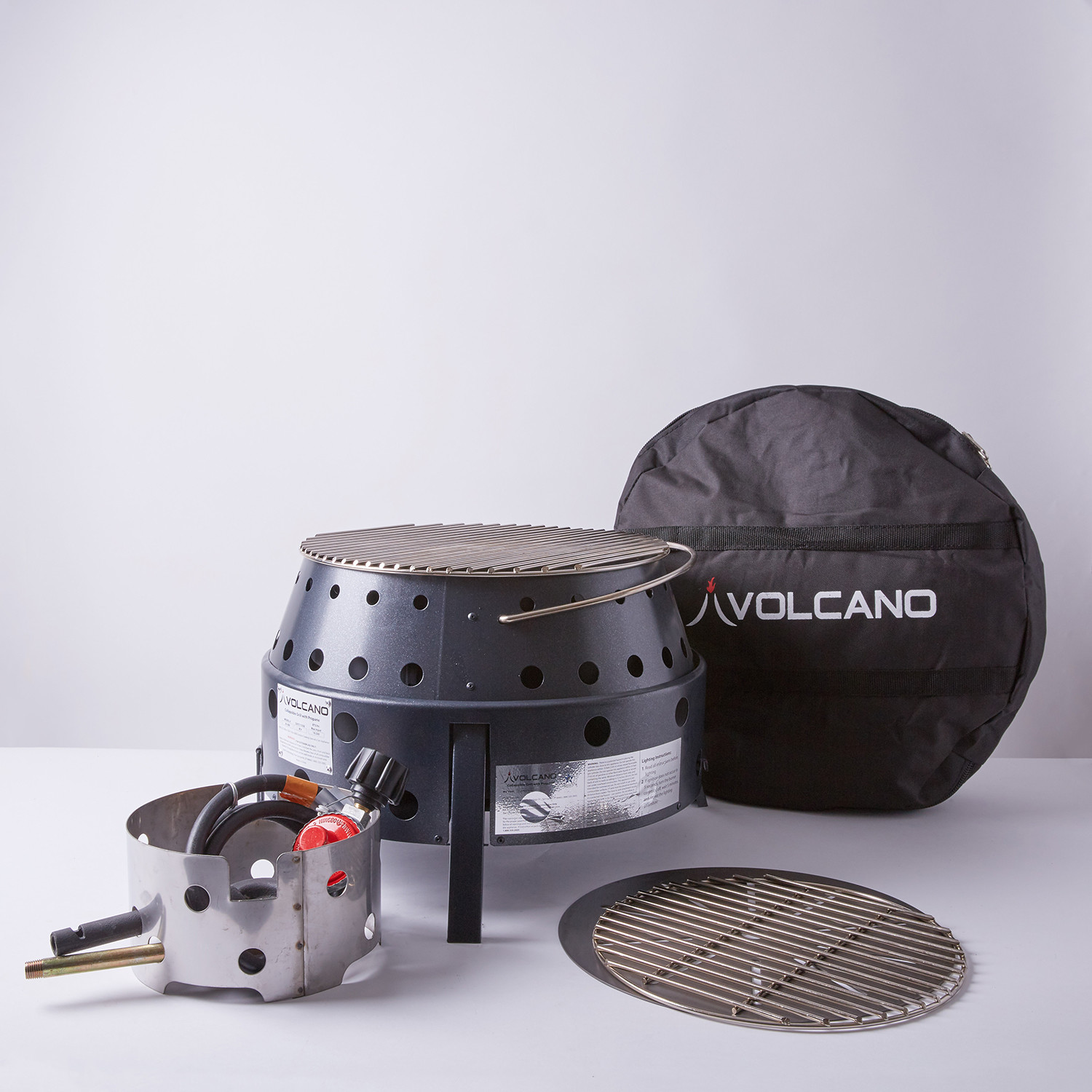 Volcano Grills // 3-Fuel Collapsible Grill + Fire Pit