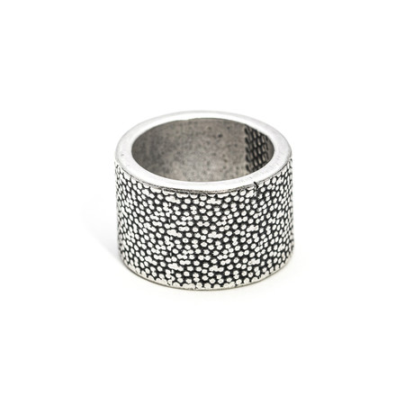 Iron Pattern Ring