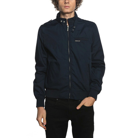 Iconic Racer Jacket // Navy (S)