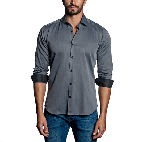 Long Sleeve Shirt // Silver