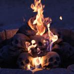 Ceramic Aged Skull (Single)