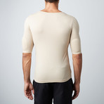 Padded Muscle Shirt // Nude (S)