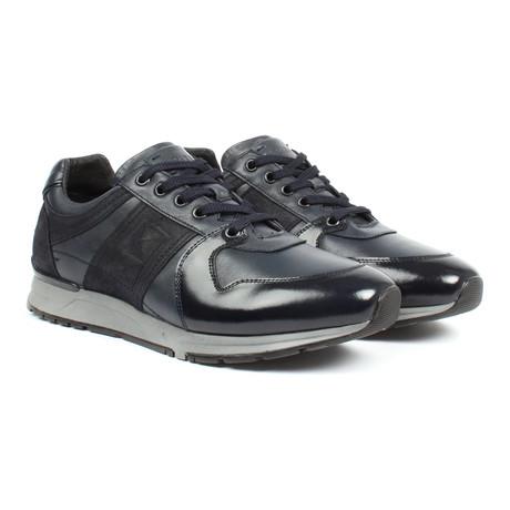 Dress Sneakers // Navy + Black