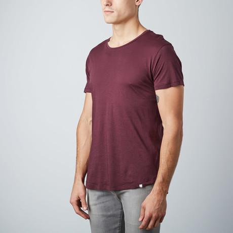 Ob T-Shirt // Bordeaux