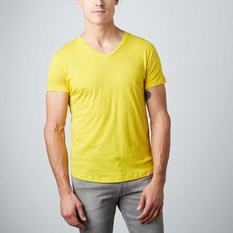 Ob V-Neck T-Shirt // Sulphur