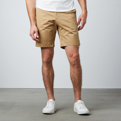 Norwich HW Shorts // Kelp