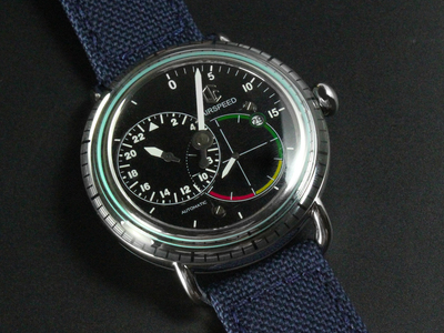 CJR Watches The Airspeed Collection CJR Airspeed Pilot Automatic // AS-SS-BK-07 by Touch Of Modern - Denver Outlet