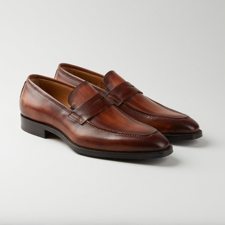 Apron Penny Loafer // Brown