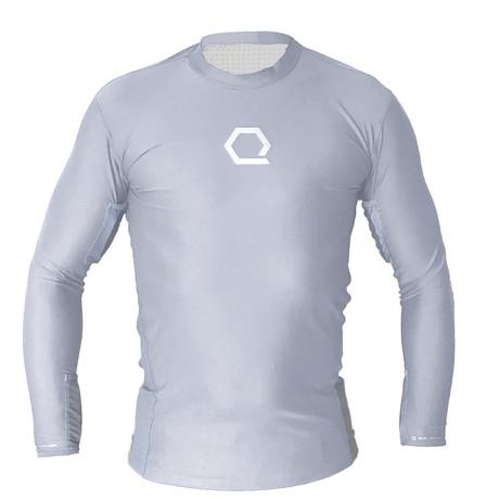 Hydration Long-Sleeve Shirt + Inserts // Grey