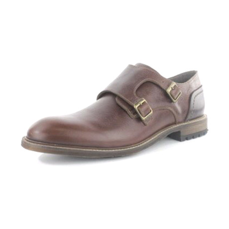 Thinker Lug Double Monkstrap // Tan 2 (US: 7)