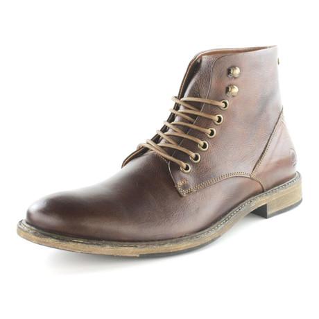 Krahe Lace-Up Boot // Mahogany