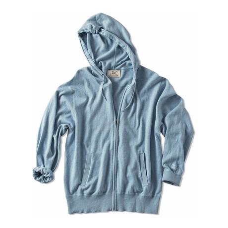 Bonfire Hoodie Sweater // Chambray