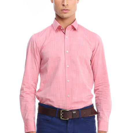 Crump Dress Shirt // Rose