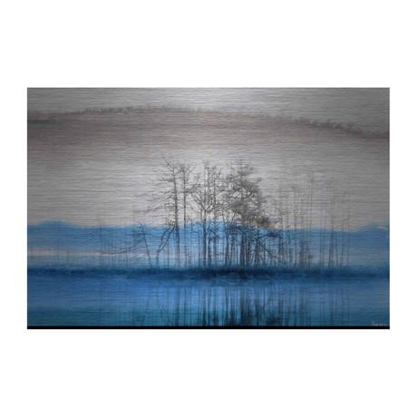Rise Above Blue Lake // Brushed Aluminum